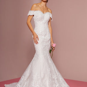 Sweetheart Mermaid Long Wedding Dress GSGL2594